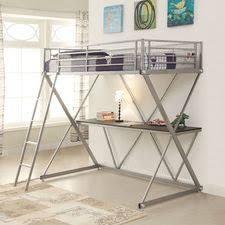 Bed Desk Ikea by Loft Bed With Desk Ikea Shutter Window Ladder Combined Drawers