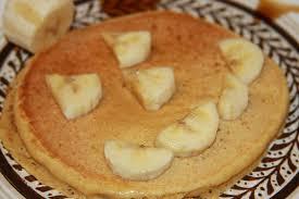 halloween pancakes creamy pumpkin pancakes your vegan neighbor
