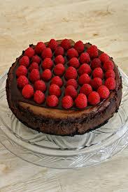 emily made that dark chocolate raspberry mousse cheesecake