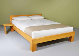 Wood Frame Bed Simple Wood Bed Frame Ideas Homesfeed