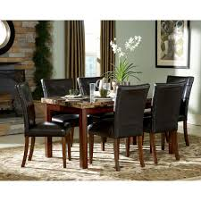 7pc Dining Room Sets Homesullivan Montebello 7 Piece Cherry Dining Set 403273 60 7pc