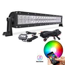 multi color led light bar 22 multi color led light bar 5d cheap light bars for cars