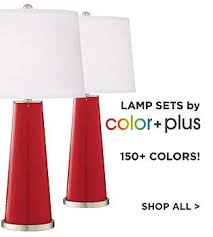 table lamp sets lamps plus