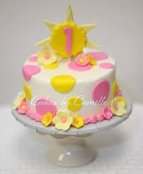 our little sunshine birthday party ideas sunshine cake and