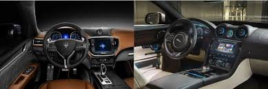 maserati ghibli interior head to head 2016 maserati ghibli vs 2016 jaguar xj autonation