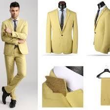 2014 new fashion design men blazer two piece coat pant dress suit