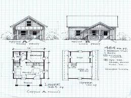 Cabin Floorplan Small Log Cabin Plans With Loft 13 Home Decorat Luxihome