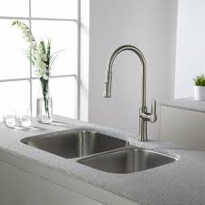 Kraus Pull Out Kitchen Faucet Kraus Kpf 1630ss Nola Stainless Steel Pullout Spray Kitchen