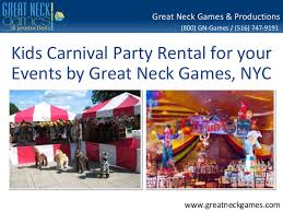 carnival party rentals kids carnival party rental for your events by great neck nyc