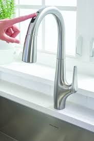 touch free kitchen faucets avery free kitchen faucet for residential pro