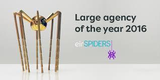 web bureau web bureau win large agency of the year award eir