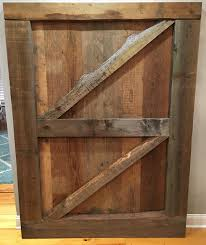 Reclaimed Wood Barn Doors by Here U0027s A Closer Look At Our Gorgeous Double Z Brace Barn Door Made