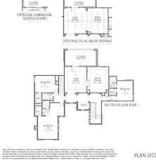 2872 floor plan at cross creek ranch in fulshear tx darling homes