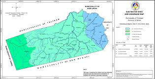 Trinidad World Map by Trinidad Water Shed And Drainage Map Municipality Of Trinidad