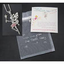tooth fairy gift equilibrium tooth fairy set with necklace charms