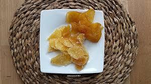 comment cuisiner le gingembre awesome recette gingembre confit au