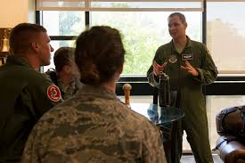 cadets get a feel for operational air force at scott u003e scott air
