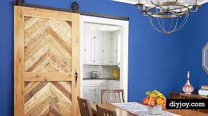 Installing A Sliding Barn Door Install Sliding Barn Doors For Rooms With A Tight Lay Out Diy Joy