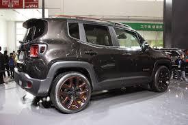 gray jeep renegade automotiveblogz jeep renegade zi you xia beijing 2014 photos