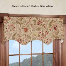 Pennys Drapes Curtain Toppers Kitchen Valance Ideas Image Of Valance Window