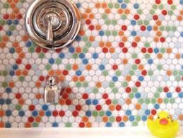 Colorful Bathroom Tile Winter Bathroom Tile Design Info Center Stonebtb Com