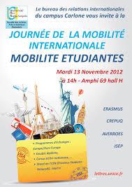 bureau d étude mobilité journée de la mobilité internationale 2012 ufr lash