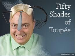 50 Shades Of Gray Meme - fifty shades of toupée meme