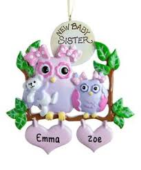 cing tent for family of 4 ornament personalized