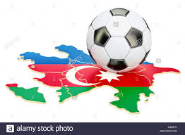 Football Country Flags Azerbaijan Country Flag Map Shape Stock Photos U0026 Azerbaijan