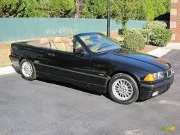 black convertible bmw jet black 1999 bmw 3 series 323i convertible exterior photo