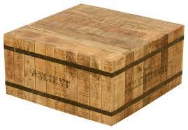 rustic solid wood coffee table industrial modern rustic solid wood iron square coffee table for