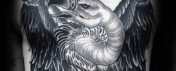 simple vulture tattoo 70 vulture tattoo designs for men scavenging bird ink ideas