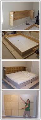 Wall Bed Frame Ikea Hack The Murphy Bed Desk Murphy Beds Pinterest Murphy