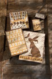 Primitive Holiday Decor Rustic Easter Decor Box Signs By Primitives By Kathy Spring