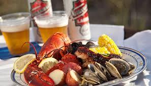 Rhode Island Lobster Buffet by Summer Lobster Boils On Rhode Island Beach Lobster Trail