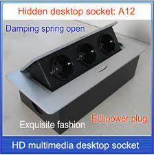 conference table power outlets pop socket eu plug tabletop socket hidden ding spring open