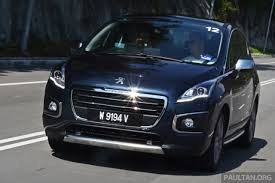 first peugeot driven peugeot 3008 thp 165 facelift first drive image 250206