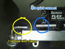 my mitsubishi evo ix flex fuel setup ericthecarguy