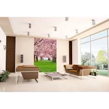 komar 100 in x 72 in vintage wood wall mural 4 910 the home depot cherry trees wall mural