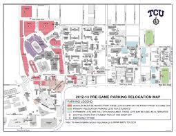 tcu parking map phi delta theta tcu map