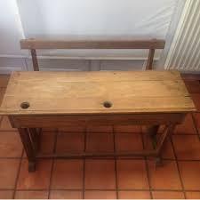 bureau en bois ancien ancien bureau d écolier bois achat vente de mobilier