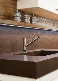 the strong and sturdy oscar kitchen faucet makes cleaning up easy