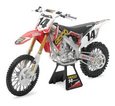 honda motocross bike race team replica u2013 new ray toys ca inc
