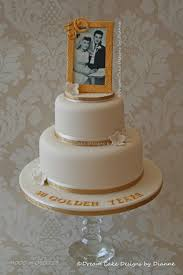 golden wedding cakes wedding anniversary cake designs by dianne