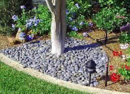 Decorative landscaping stones — Paulele Beach House
