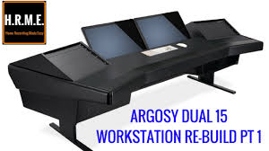 Recording Studio Workstation Desk by Argosy Workstation Desk Home Studio Workstation Rebuild Part 1