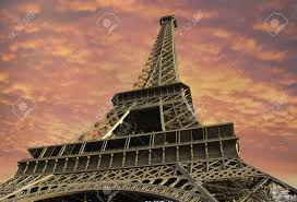 imagenes de bottom up bottom up view of eiffel tower in paris france stock photo picture