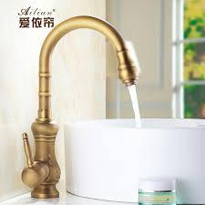 Retro Kitchen Faucet Continental 100 Copper Faucet Luxury Palace Antique European