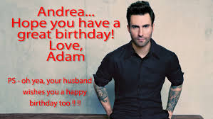Adam Levine Meme - birthday wishes from adam levine for my wife and one from me too