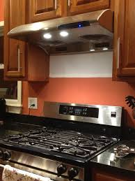 kitchen style kitchen range hood ideas open shelves flat panel